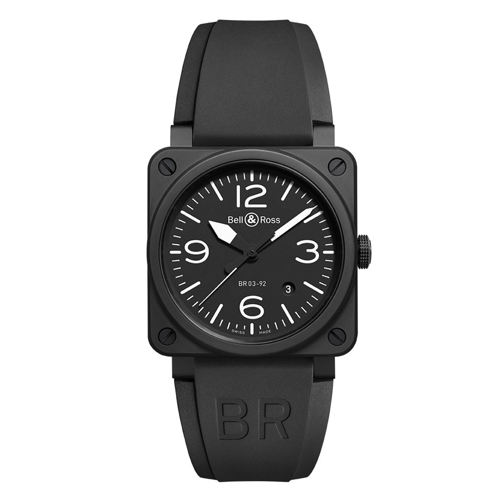 Bell and Ross BR0392-BL-CE