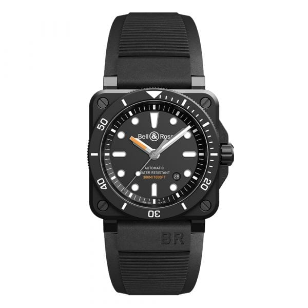 Bell and Ross BR0392-D-BL-CE/SRB