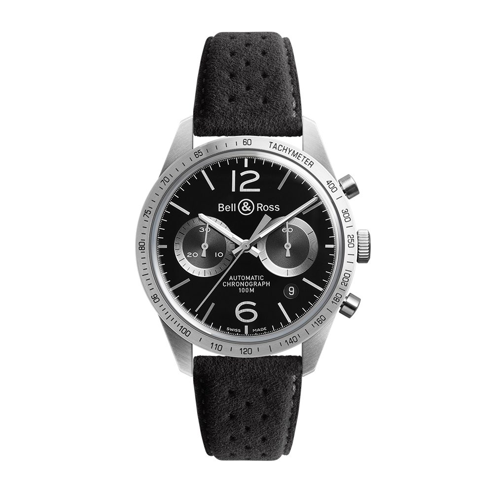 Bell and Ross BRV126-BS-ST/SF