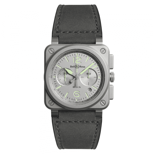 Bell and Ross BR0394-GR-ST/SCA