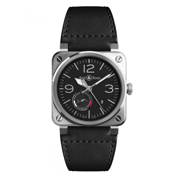 Bell and Ross BR0397-BL-SI/SCA/2
