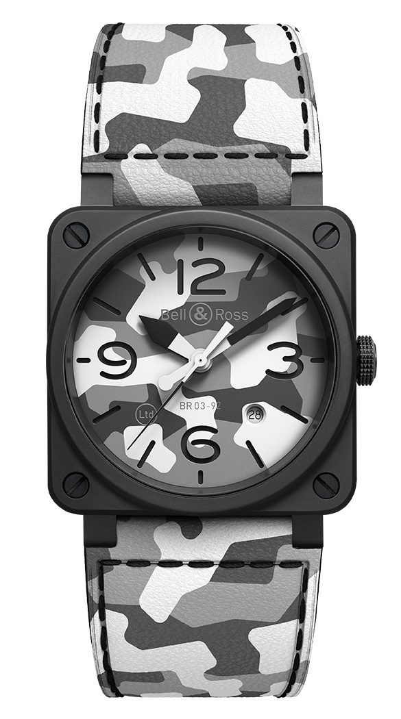 Bell and Ross BR0392-CG-CE/SCA