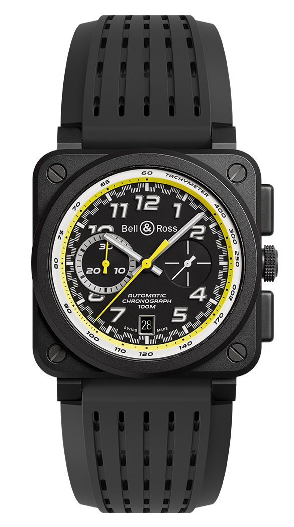 Bell and Ross BR0394-RS20/SRB