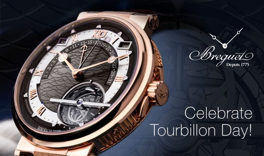 Breguet Celebrates Tourbillon Day