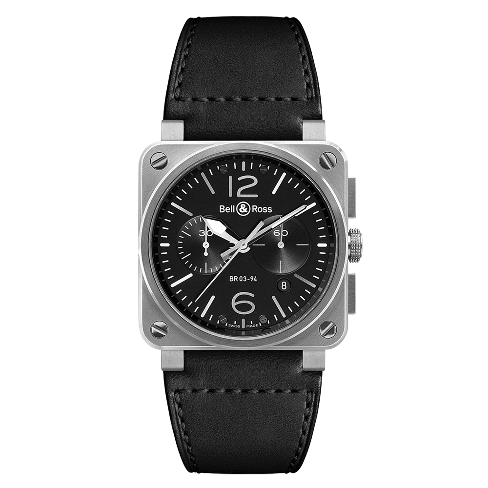 Bell & Ross BR0394-BL-SI/SCA