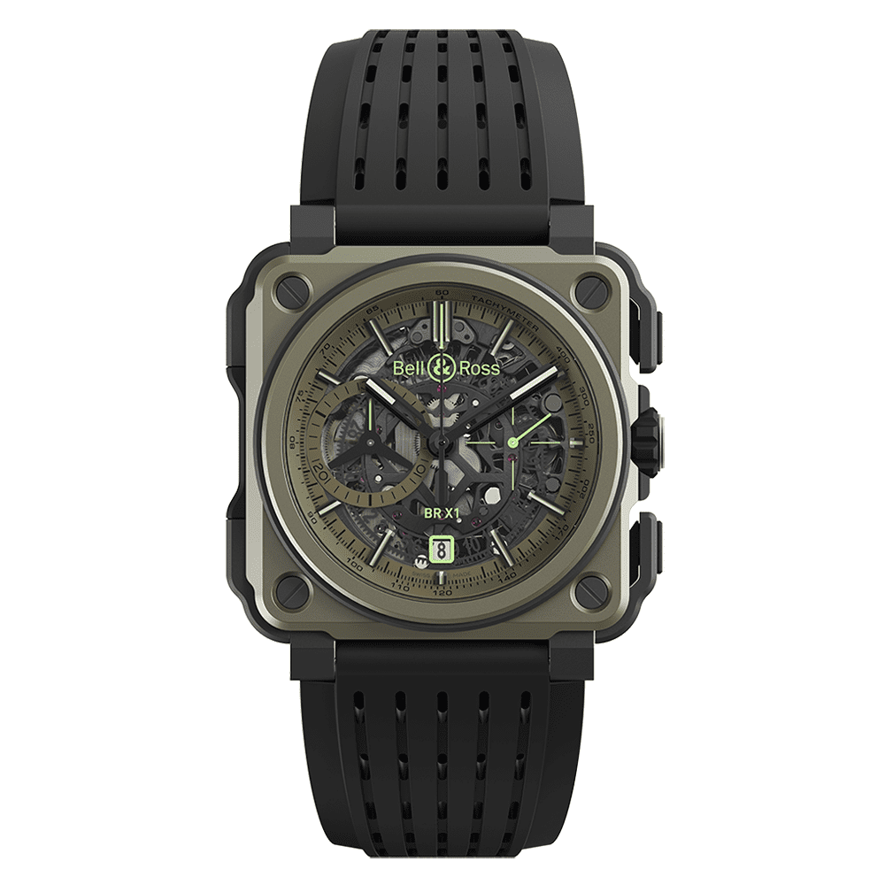 Bell & Ross BRX1-CE-TI-MIL