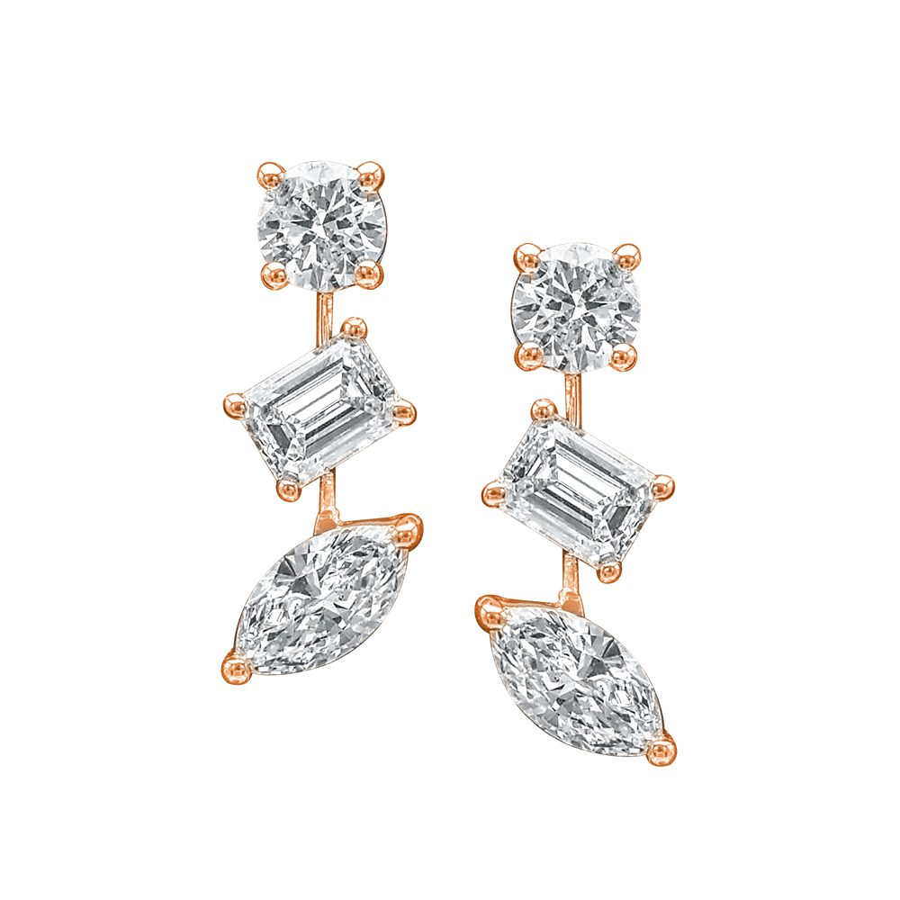 King Jewelers DED1017A-RG