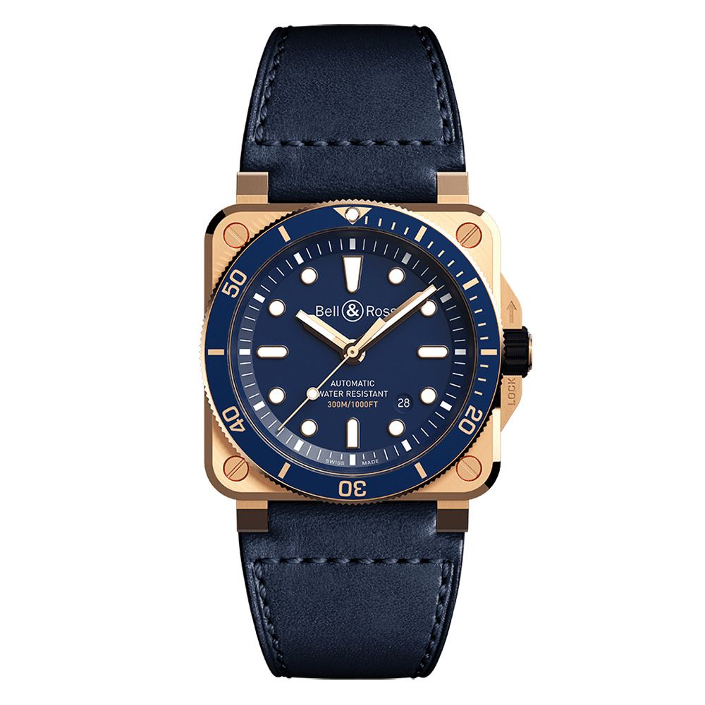 Bell and Ross BR0392-DLUBR/SCA_1