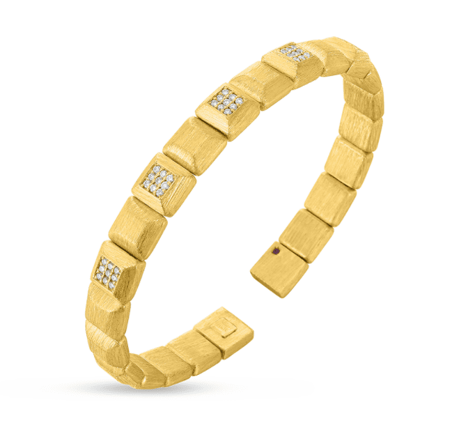 Roberto Coin Designer Gold Bangle