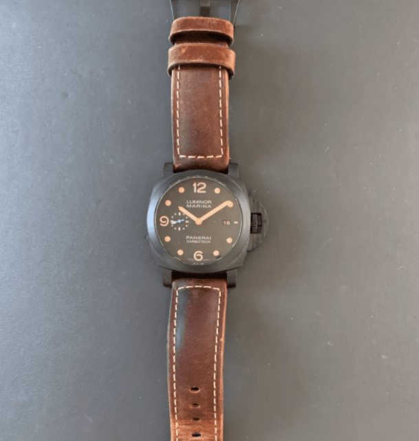 Pre owned Panerai Carbotech PAM00661