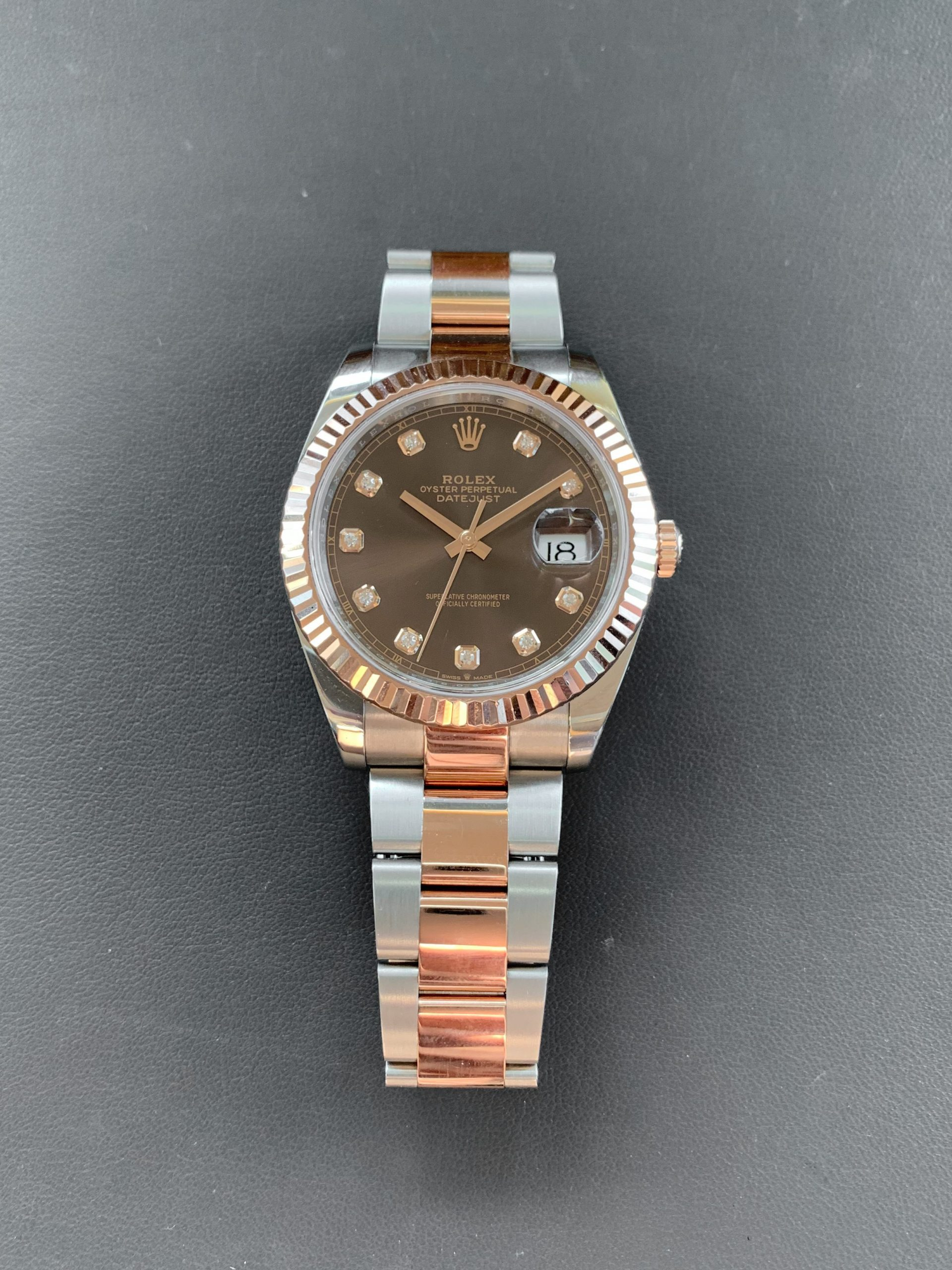 Preowned Rolex Datejust 41 Chocolate