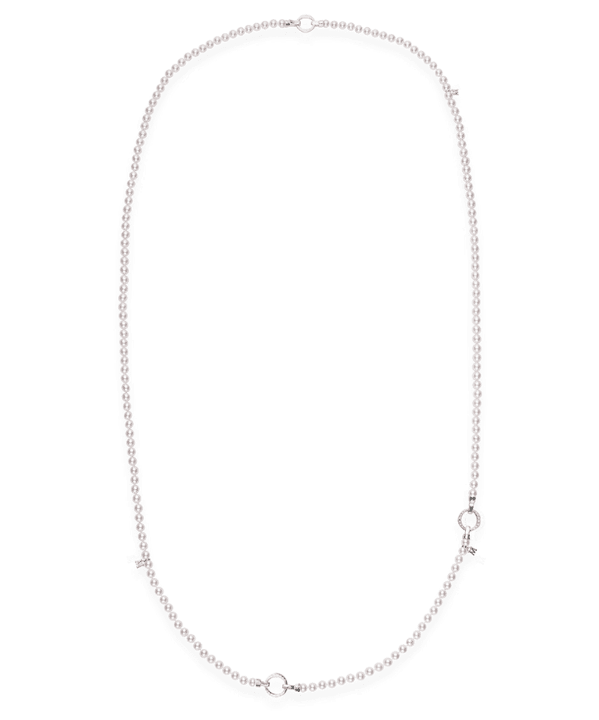 Mikimoto Skipping Rope Convertible Cultured Pearl Necklace