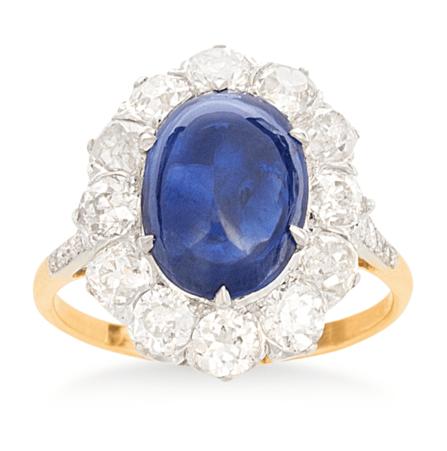 King Jewelers Sapphire Ring